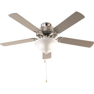 Ceiling fan with bright light wayfair 52 hamlett 3 light 5 blade ceiling fan mozeypictures Gallery
