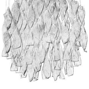 Bushnell 1-Light Crystal Ceiling Fixture by Orren Ellis
