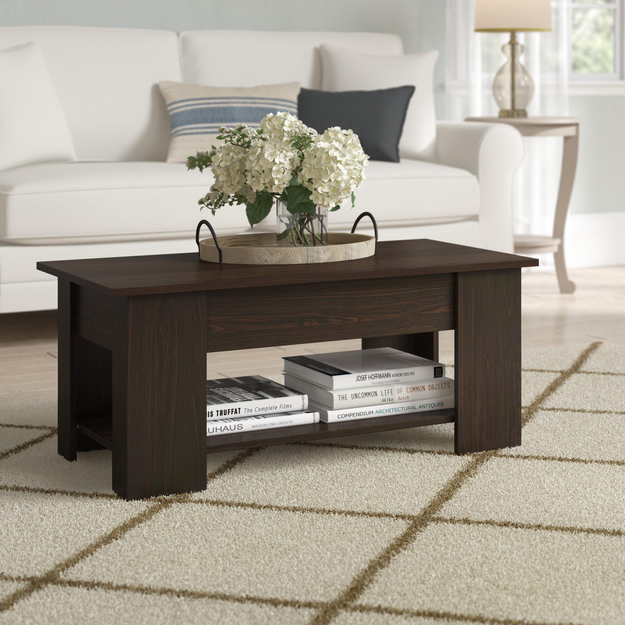 Ebern Designs Maier Lift Top Coffee Table Reviews Wayfair [ 2000 x 2000 Pixel ]