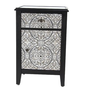Hartig Traditional Wood Accent Cabinet by Bungalow Rose
