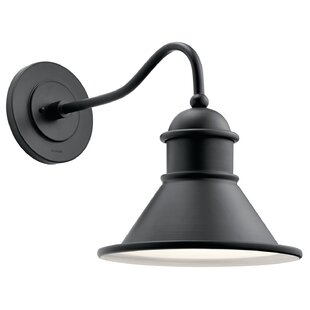 Vivek 1-Light Outdoor Barn Light by Kichler 2019 Online