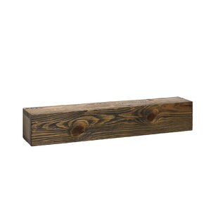 Plow & Hearth Rustic Wooden Wall Shelf