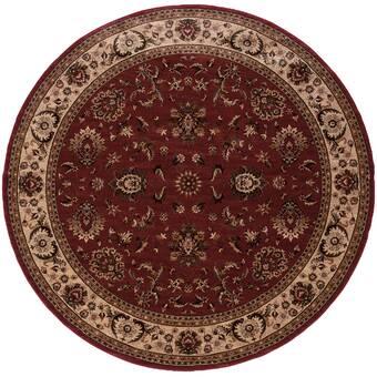 Bokara Rug Co Inc Aryana Oriental Hand Knotted Wool Beige Red Area Rug Wayfair