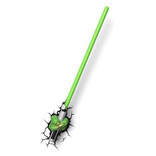 3D Light FX 3D EP.7 Star Wars Yoda Saber Deco Night Light
