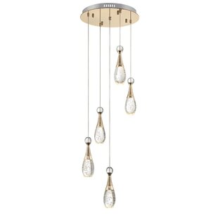 Lafayette 5-Light LED Cluster Pendant by Mercer41
