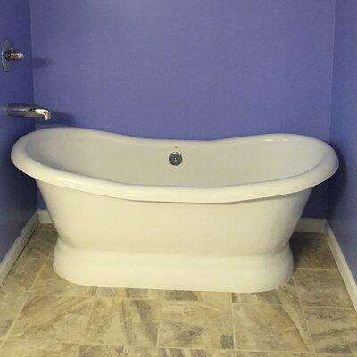 "Restoria Bathtub Company Empress 68"" x 30"" Freestanding Bathtub"