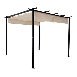 Gassaway 3m X 3m Metal Patio Gazebo By Sol 72 Outdoor