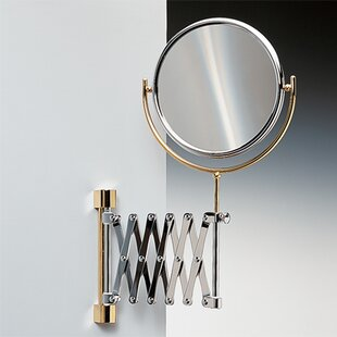 Wall Mounted Extendable Double Face Magnifying Mirror ByWindisch by Nameeks