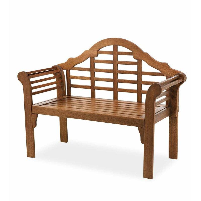 Lutyens Wooden Garden Bench