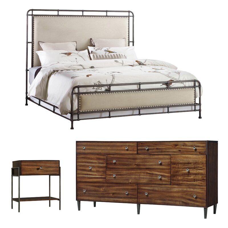 Studio 7H Panel Configurable Bedroom Set