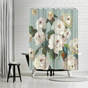 PI Creative Art La Rosa Single Shower Curtain