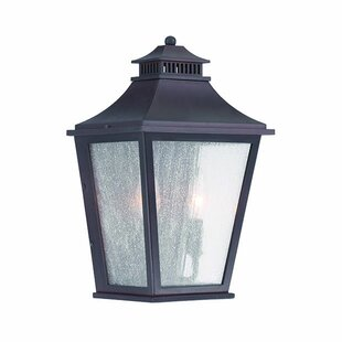 Bertha 2-Light Outdoor Flush Mount by Fleur De Lis Living Sale