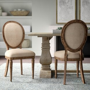Price comparison Margie Upholstered Dining Chair (Set of 2) by Greyleigh Reviews (2019) & Buyer's Guide