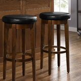 Hiltner Swivel Bar Stool (Set of 2) by Winston Porter