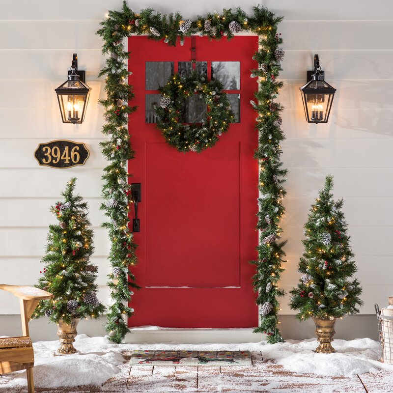 Frosted Berry Decorating Garland And Swag Kit Ortment