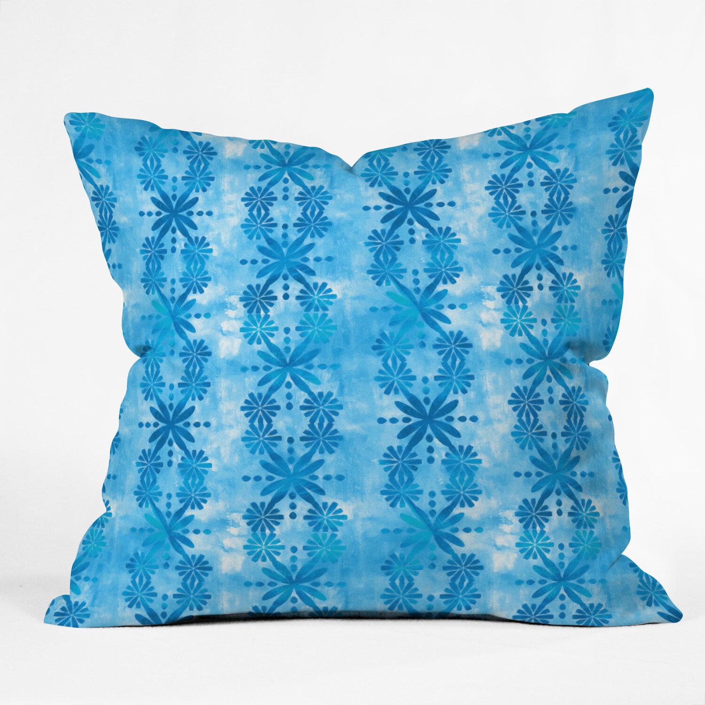 East Urban Home Jacqueline Maldonado Parallel Periwinkle Throw Pillow Wayfair