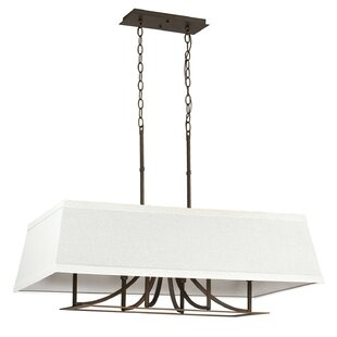 Red Barrel Studio Bilski 6-Light Kitchen Island Pendant