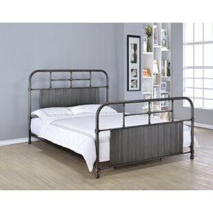 Gracie Oaks Swan Panel Bed