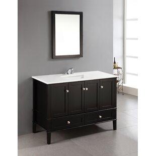 Save Simpli Home Chelsea 49 Single Bathroom Vanity