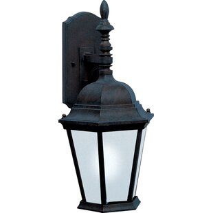 Great deal Mathilda 1-Light Outdoor Wall Lantern By Alcott Hill