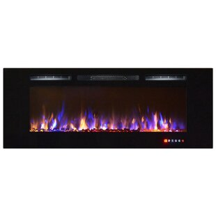 Essary Wall Mounted Fireplace by Orren Ellis