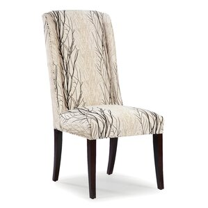 High Back Upholstered Dining Chair by Fairfield Chair