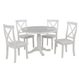 Luverne 5 Piece Dining Set by Alcott Hill®