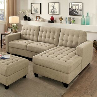 Latitude Run Henrik Sectional with Ottoman
