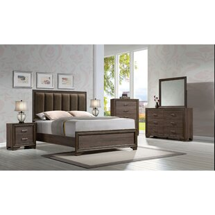 Ivy Bronx Bowne Upholstered Panel Configurable Bedroom Set