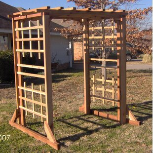 Threeman Products Deluxe Cedar Wood Arbor