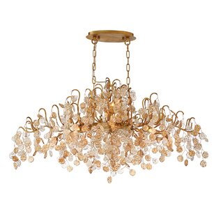 Campobasso 10-Light Crystal Chandelier by Eurofase