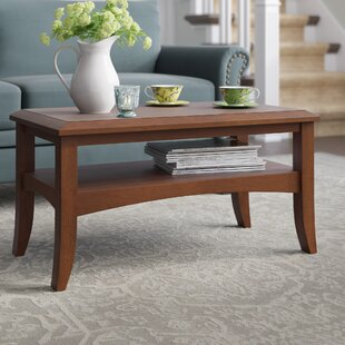 Find a Cripe Antique Walnut Coffee Table By Charlton Home