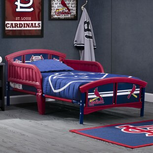 MLB St. Louis Cardinals Convertible Toddler Bed by Delta Children