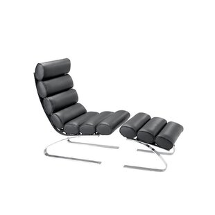 Claes Louge Chair and Ottoman