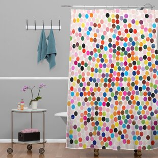 Barone Dance 3 Single Shower Curtain