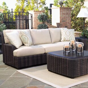 Aruba Patio Sofa with Cushions by Woodard