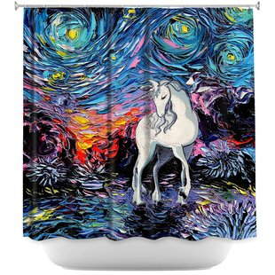 Unicorn Shower Curtain Wayfair