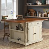 Edlin Kitchen Island by Rosalind Wheeler