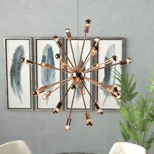 Wade Logan Helmetta 24-Light Chandelier