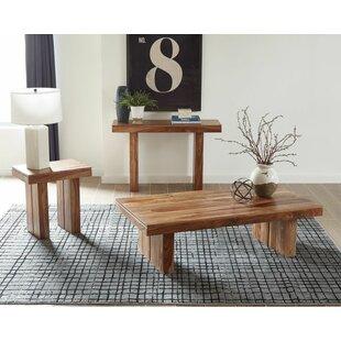Bloomsbury Market Hertz 3 Piece Coffee Table Set