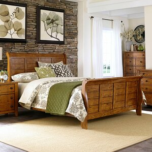 Tahoe Sleigh Bed by Liberty Furniture
