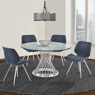 Nevil 5 Piece Dining Set Orren Ellis