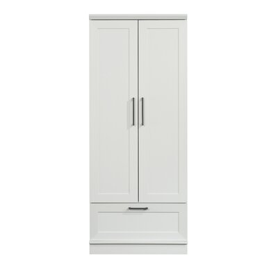 Tiberius Armoire Color: Soft White by Andover Mills