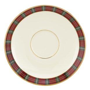 Winter Greetings® Plaid 6  Saucer  sc 1 st  Wayfair & Tartan Plaid Charger Plates | Wayfair