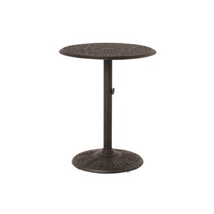 Merlyn Round Pedestal Aluminum Bar Table