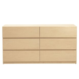 Best Reviews Kareem 6 Drawer Double Dresser By Mack & Milo