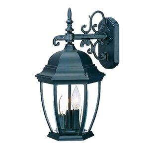 Astoria Grand Drumkeeran 3-Light Outdoor Sconce