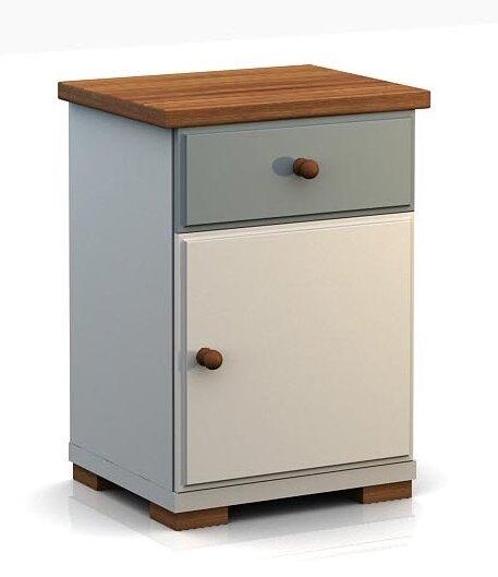 sosno nachttisch vinci mit schublade bewertungen. Black Bedroom Furniture Sets. Home Design Ideas