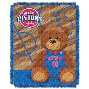 Great choice NBA Pistons Half Court Baby Throw ByNorthwest Co.