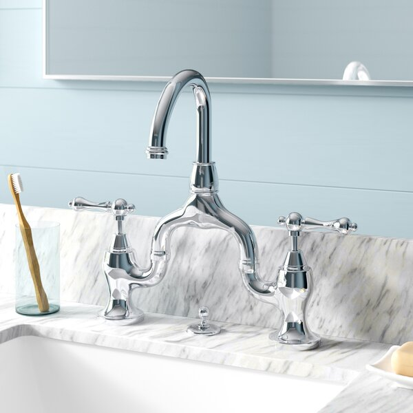 English Country Centerset Bathroom Faucet With Drain Assembly Reviews